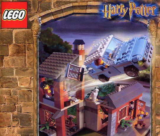 Días de viejo color: el Harry de los tiempos felices escapa de Privet Drive con la ayuda de su novio Ron